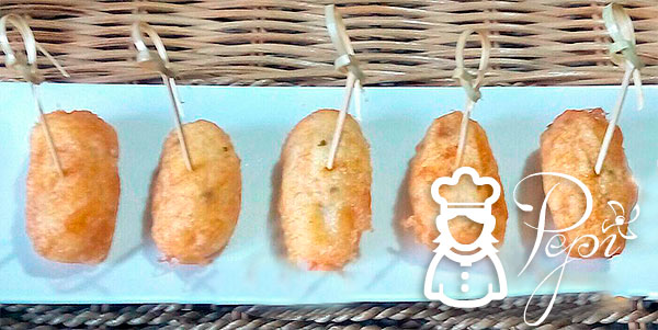 Croquetas de bacalao sin gluten