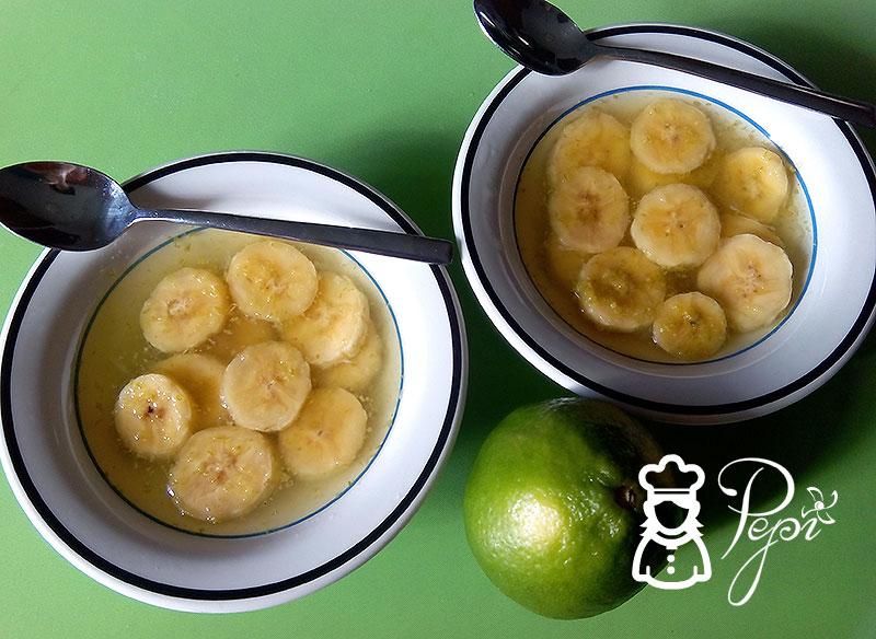 Plátano a la lima
