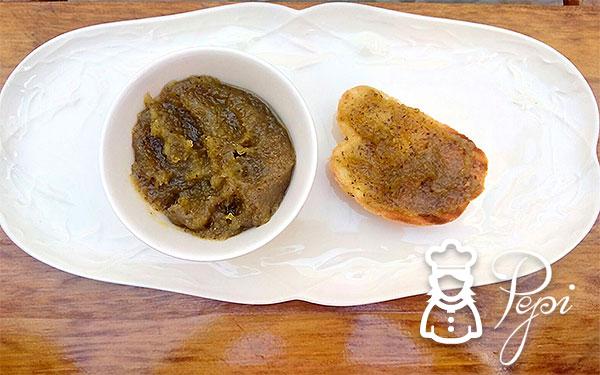 Mermelada de calabacín al aroma de vainilla