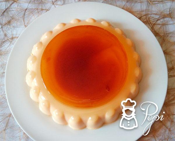 Pastel de naranja y caramelo thermomix