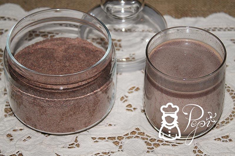Cacao soluble casero