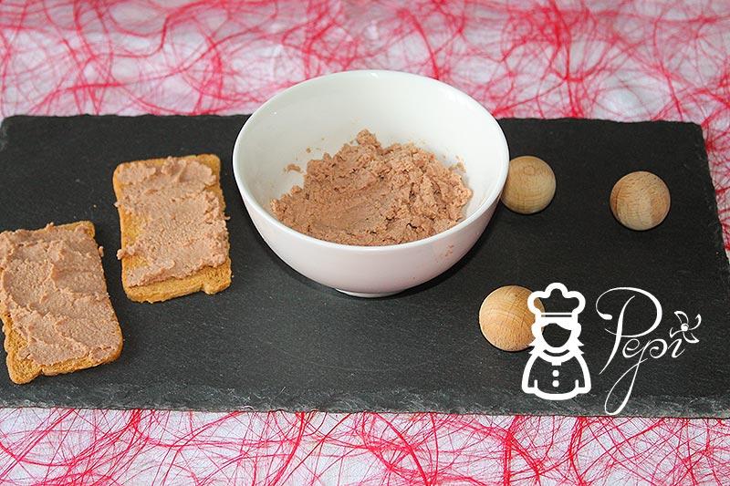 Paté de ibérico al Pedro Ximénez
