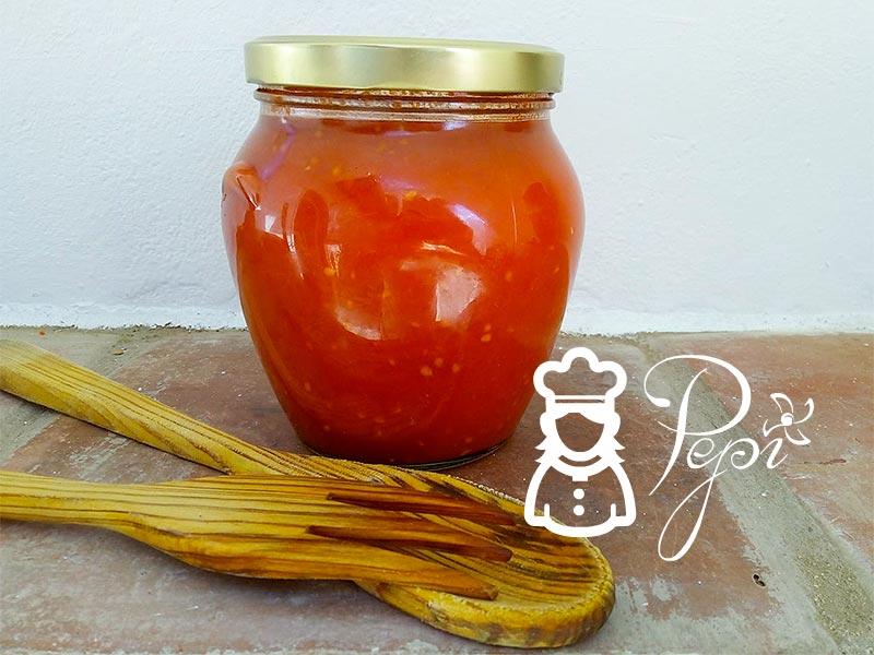Salsa de tomate y cómo conservar